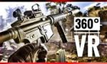 360° Gameplay VR Video of CoD BO4 for Virtual Reality VR BOX 360 4K VR