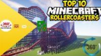 Mınecraft: Roller Coaster 360 Degree VR