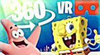 SpongeBob DANCING / 360 VR Video